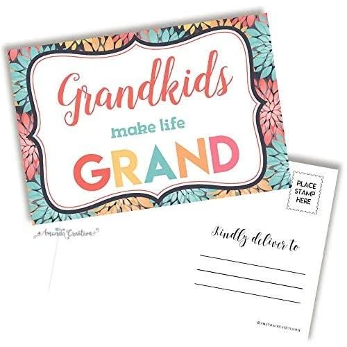 Grandkids Make Life Grand Postcard