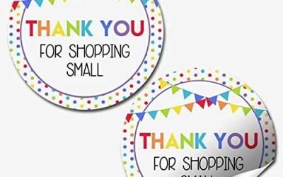 Customer Appreciation Stickers for Small Businesses