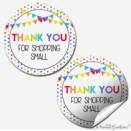 Small Business Customer Appreciation Stickers