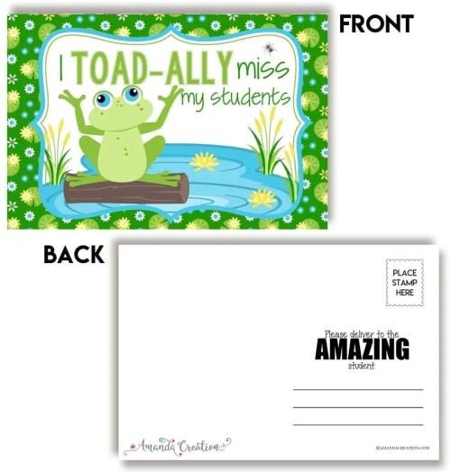 Student Postcards