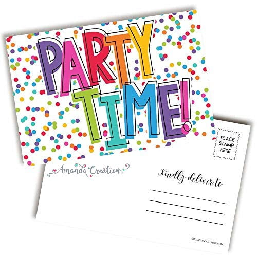 Party Time Postcard