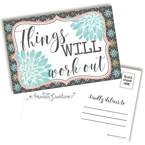 Things Will Work Out Postcard