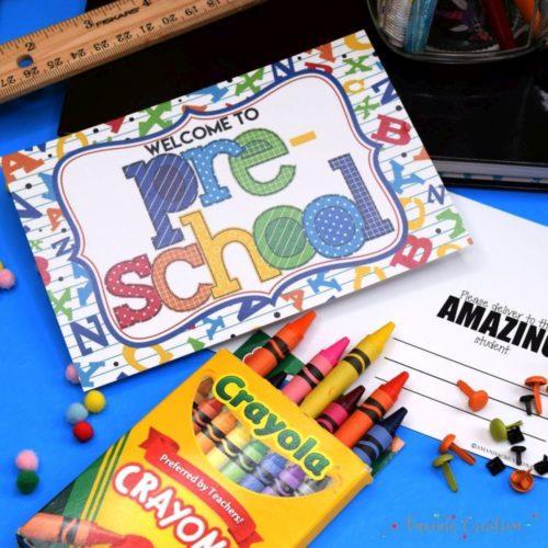 Back to School Teacher Postcards