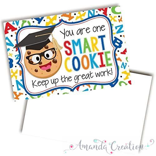 Smart Cookie Themed Keep Up The Good Work Cards For Students