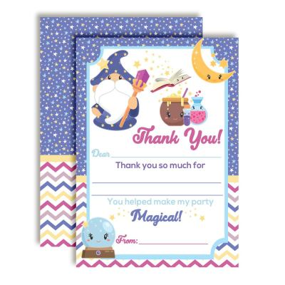 Magical Wizard Thank You Cards
