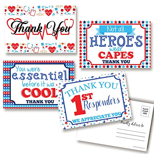 health care essential employee thank you card