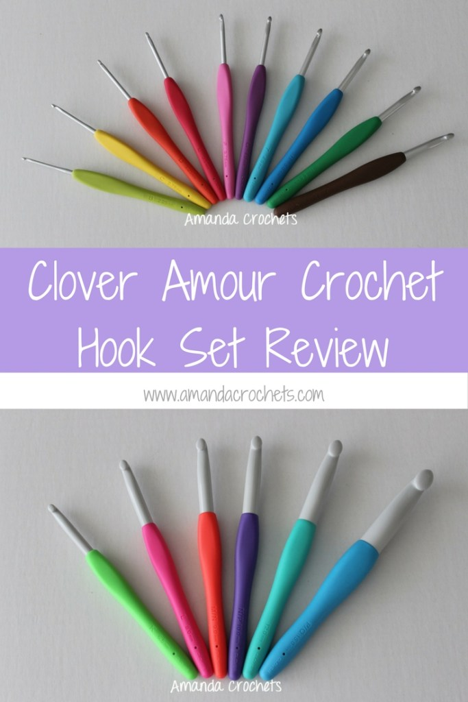 Clover Amour Crochet Hook Set Amanda Crochets
