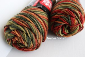 crochet fall banner