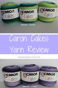 Caron Cakes Yarn Review