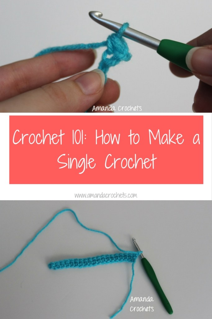how to make a single crochet