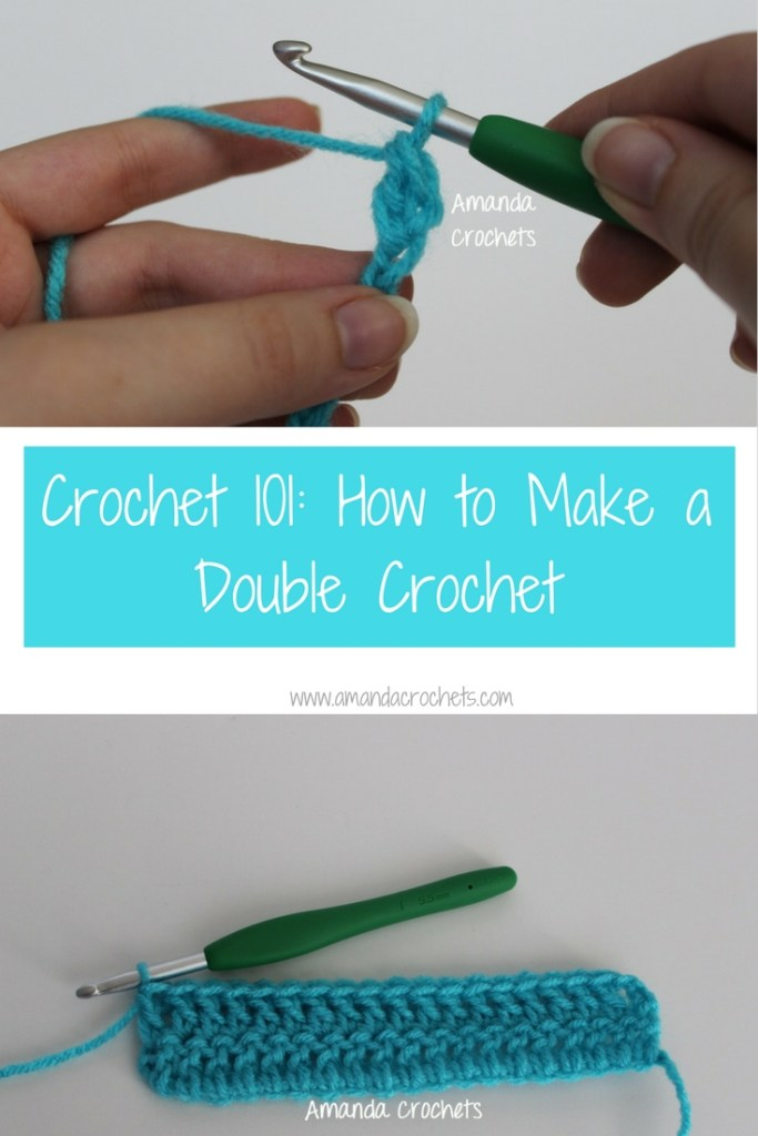 how to make a double crochet