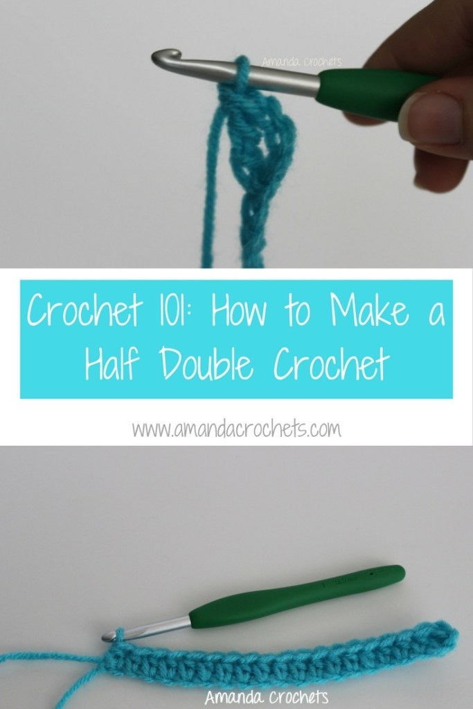 how to make a half double crochet