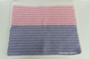 half double crochet pet mat pattern