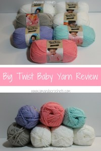 Big Twist Baby Yarn Review
