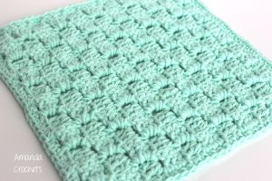 Corner-to-Corner Dishcloth Pattern