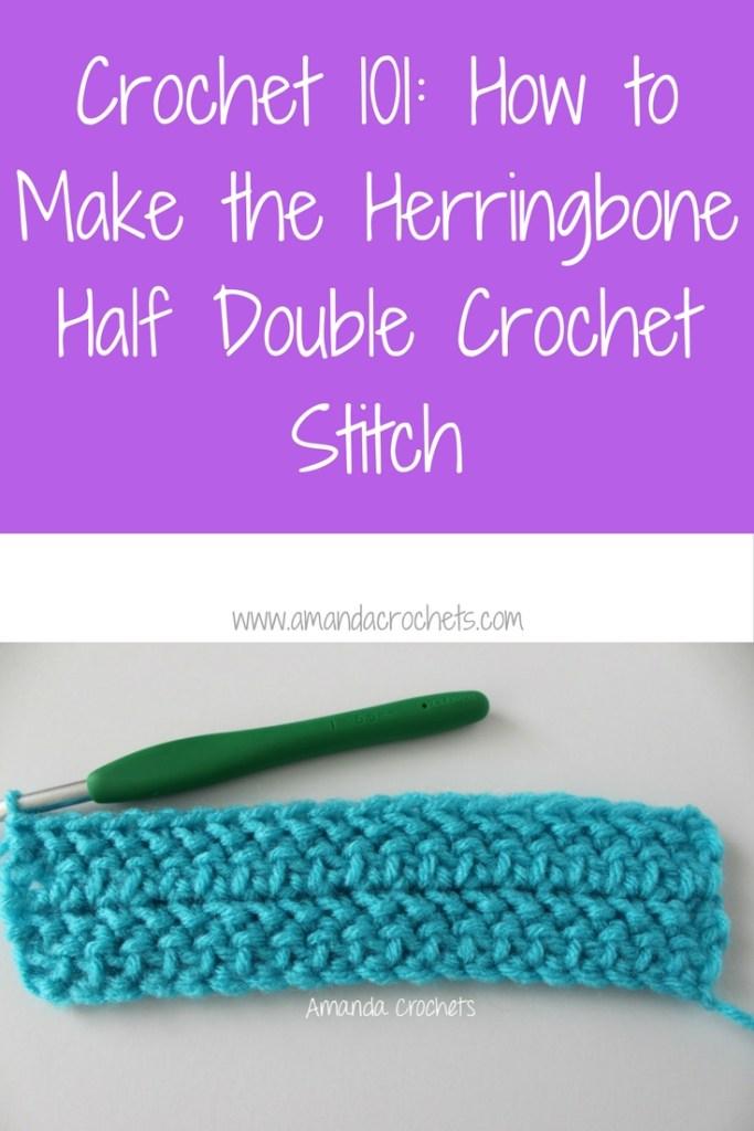 How to make the herringbone half double crochet amanda crochets how to make the herringbone half double crochet dt1010fo