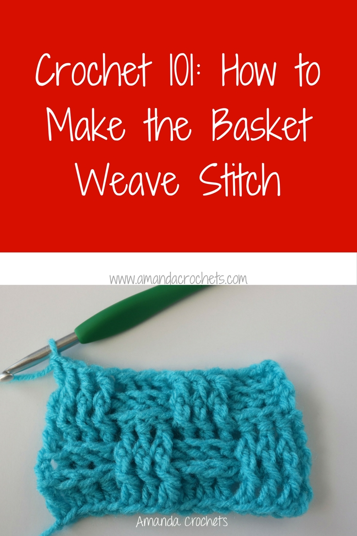 how to make the basket weave stitch