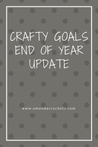Crafty Goals End of Year Update