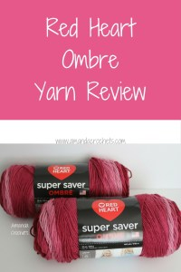 Red Heart Ombre Yarn Review