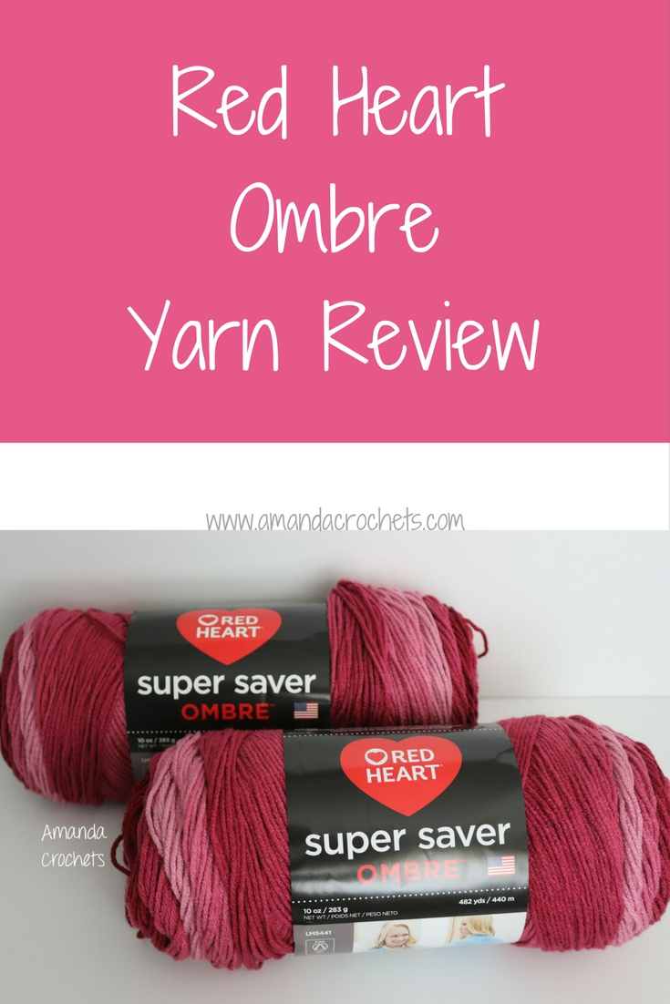 red heart ombre