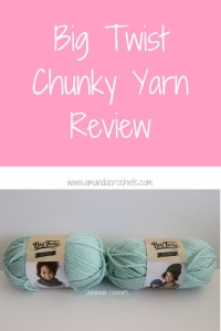 Big Twist Chunky Yarn Review