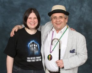 Me and Sylvester McCoy