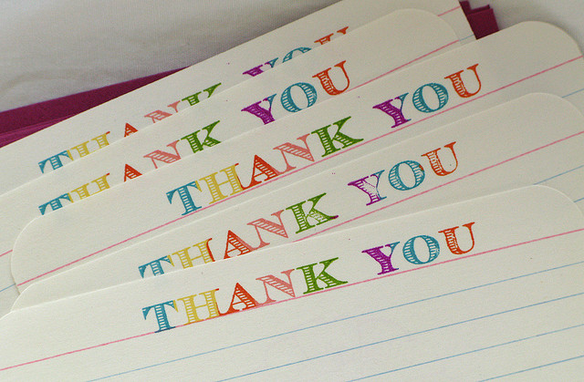 Thank You by Milly and released under a CC BY-NC-ND 2.0 License