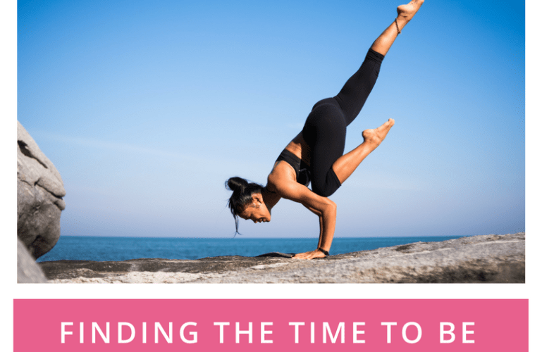 Finding the time to be active