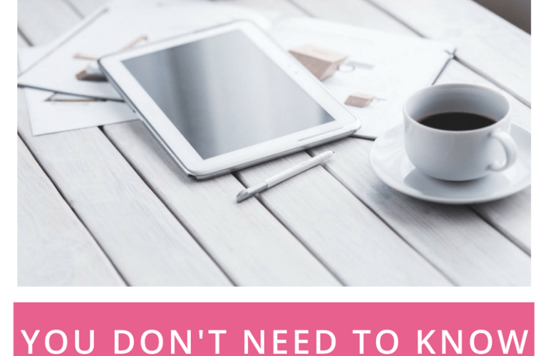 AmandaMarieBiz | You don't need to know it all