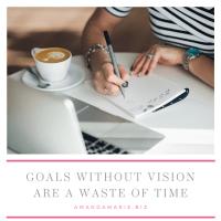 AmandaMarieBiz | Goals Without Vision