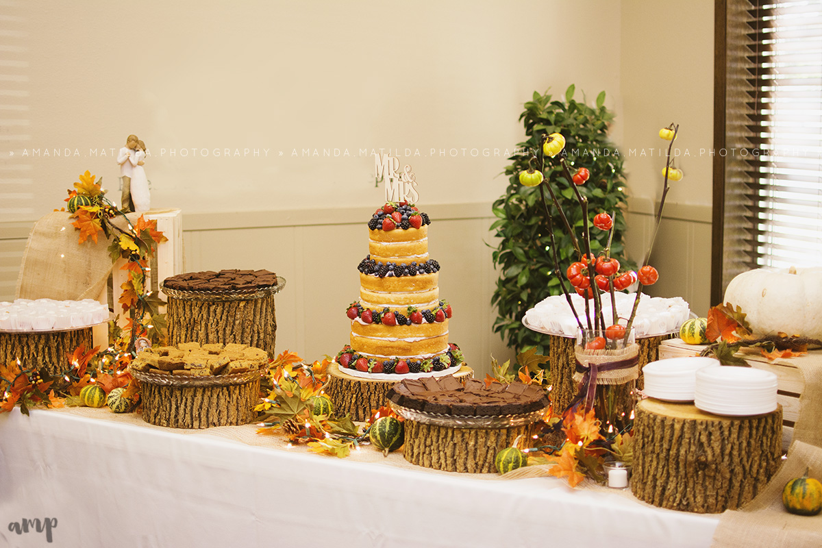 Naked Cake Dessert Table | Grand Junction Wedding Photographer
