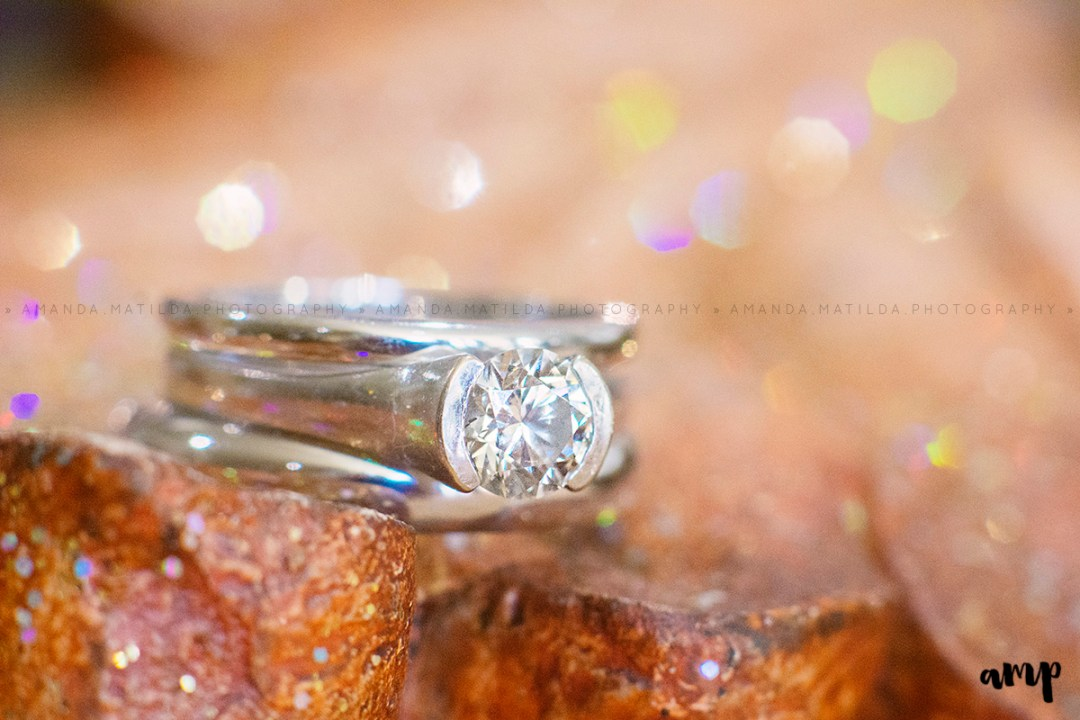autumn wedding ring | Grand Junction Colorado wedding photographer