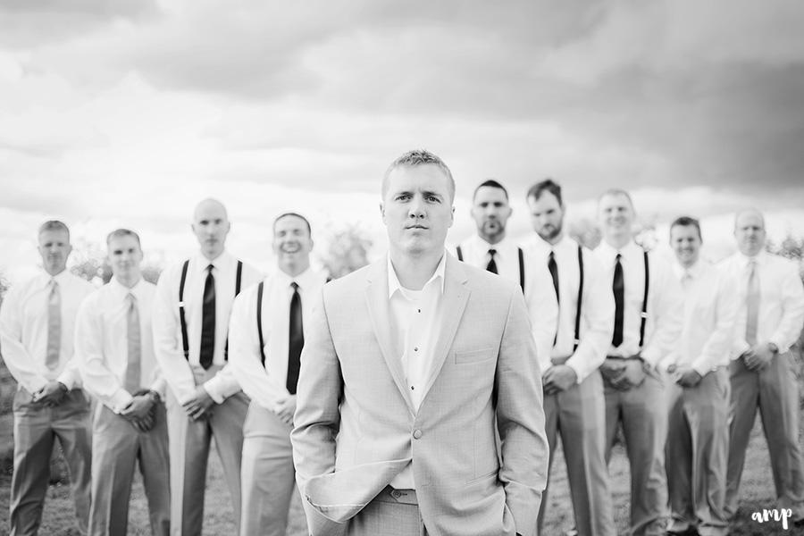Wedding portraits in a vineyard | | Palisade Winery Wedding Photographer