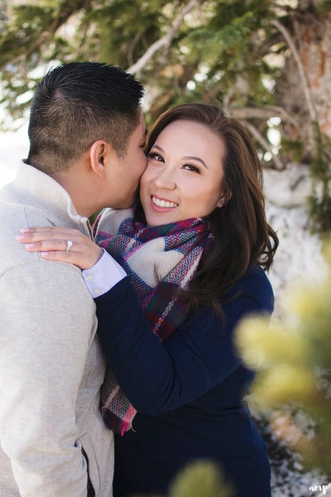 Winter Engagement Session on the Grand Mesa | amanda.matilda.photography