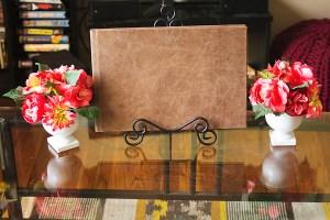 Aspen Series Album displayed in a home