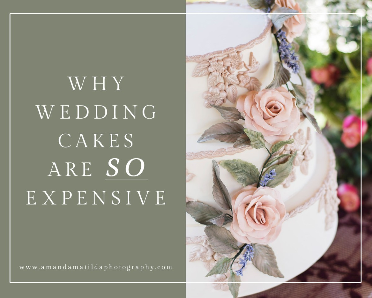 why wedding cake so expensive why custom wedding cakes are so expensive amanda matilda 27475