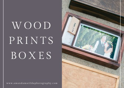 Handcrafted Wood Prints Boxes | amanda.matilda.photography - Grand Junction, Colorado wedding photographer