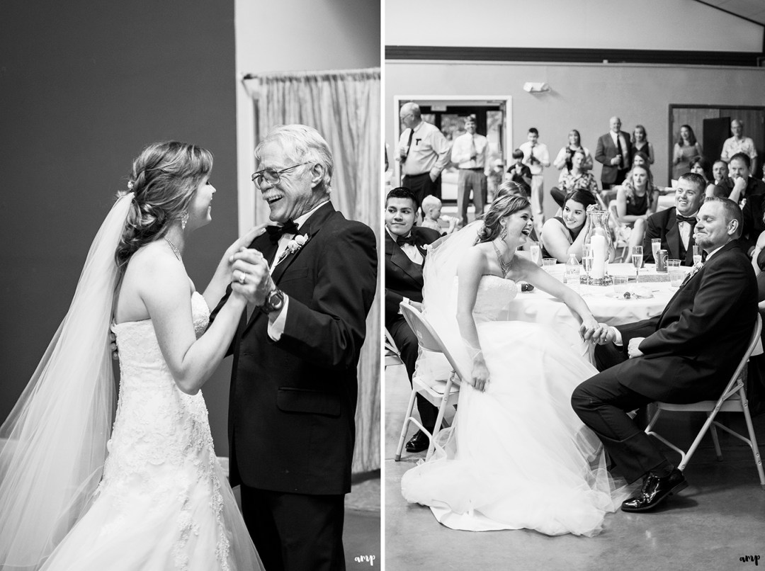 Wedding reception | Father-daughter dance
