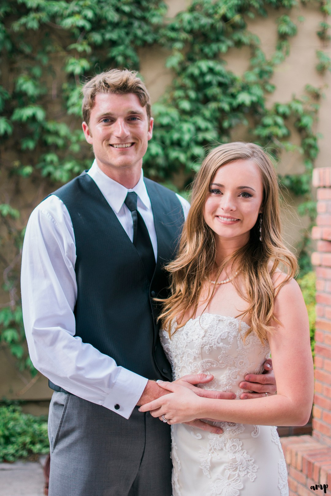 Bride and Groom | Ouray Wedding at the Amphitheater and Beaumont Hotel