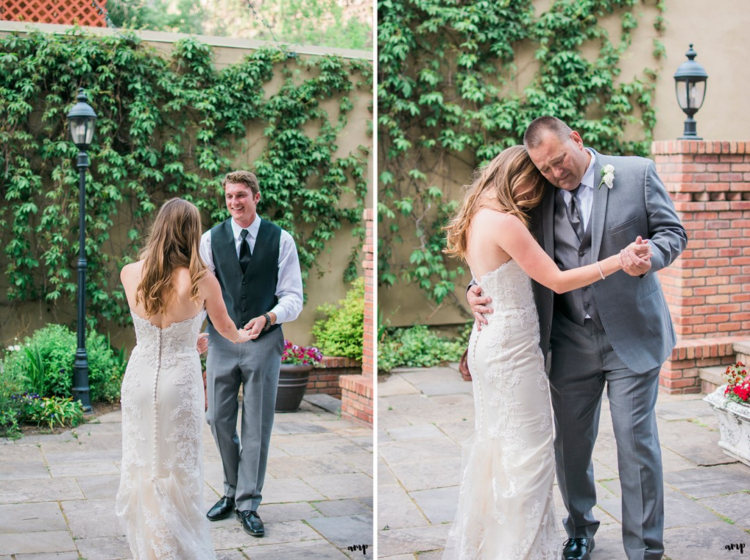 First dance with bride and groom and her father