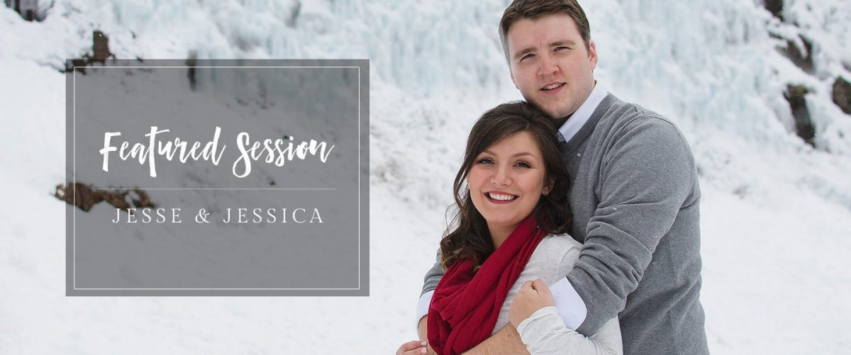 Featured Engagement Session | Ouray Ice Castle Photos by amanda.matilda.photography
