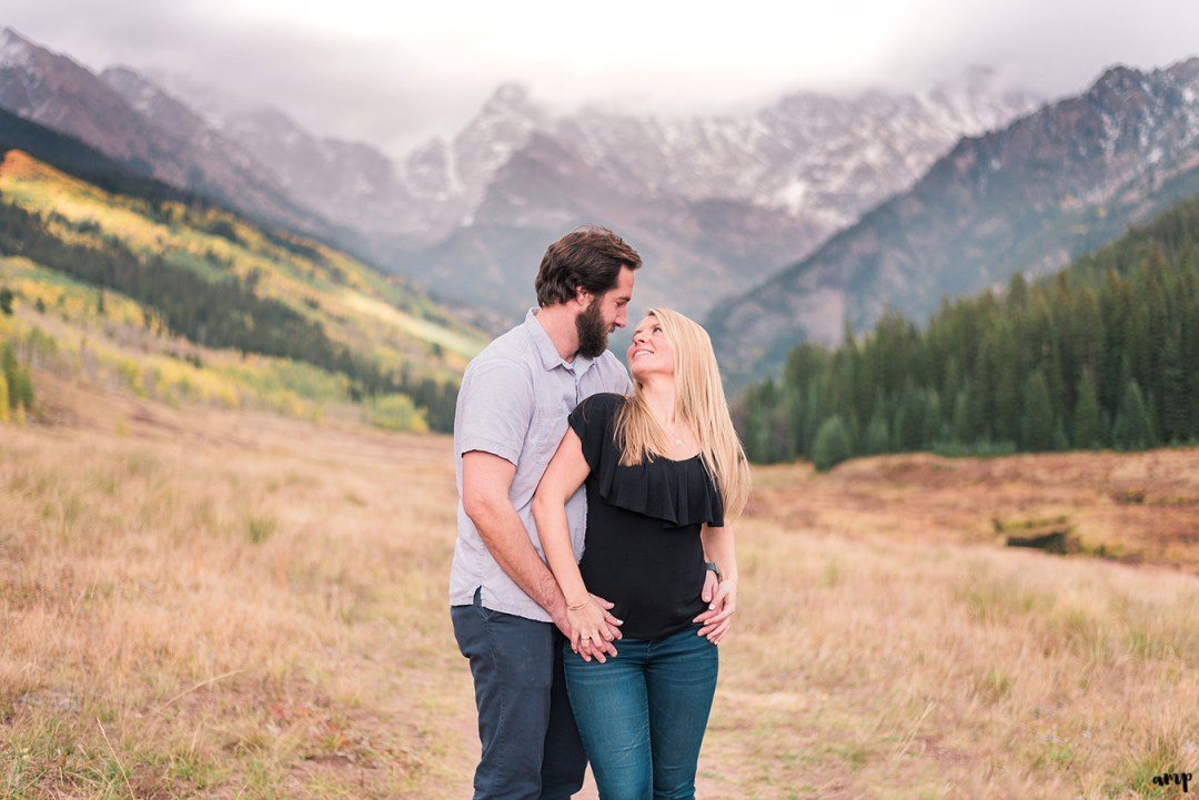 Vail Engagement at Piney River Ranch | amanda.matilda.photography