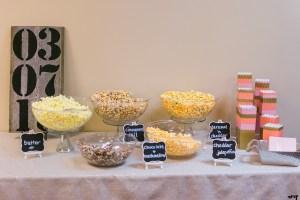 Wedding Reception Bar Inspiration   Popcorn Bar
