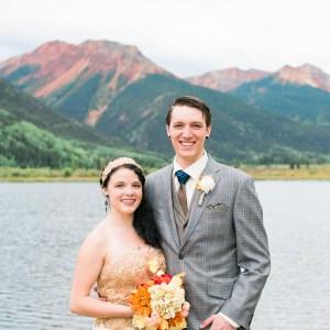Ouray Wedding at Crystal Lake | Destination Wedding Photographer in Ouray | amanda.matilda.photography