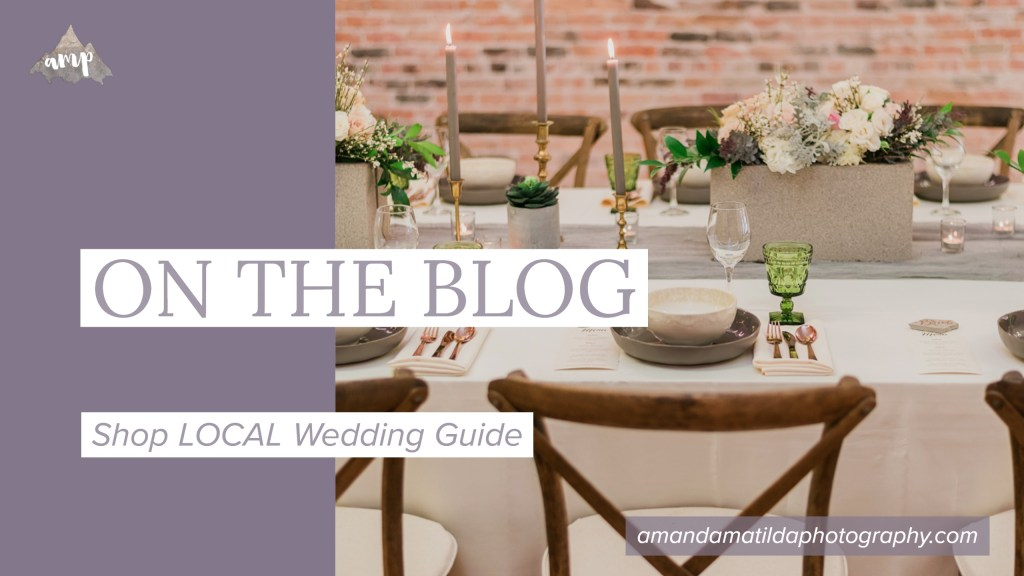 Shop LOCAL Wedding Guide | Grand Junction Wedding Magazine | amanda.matilda.photography