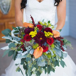 Colorful Weddings: Bouquets