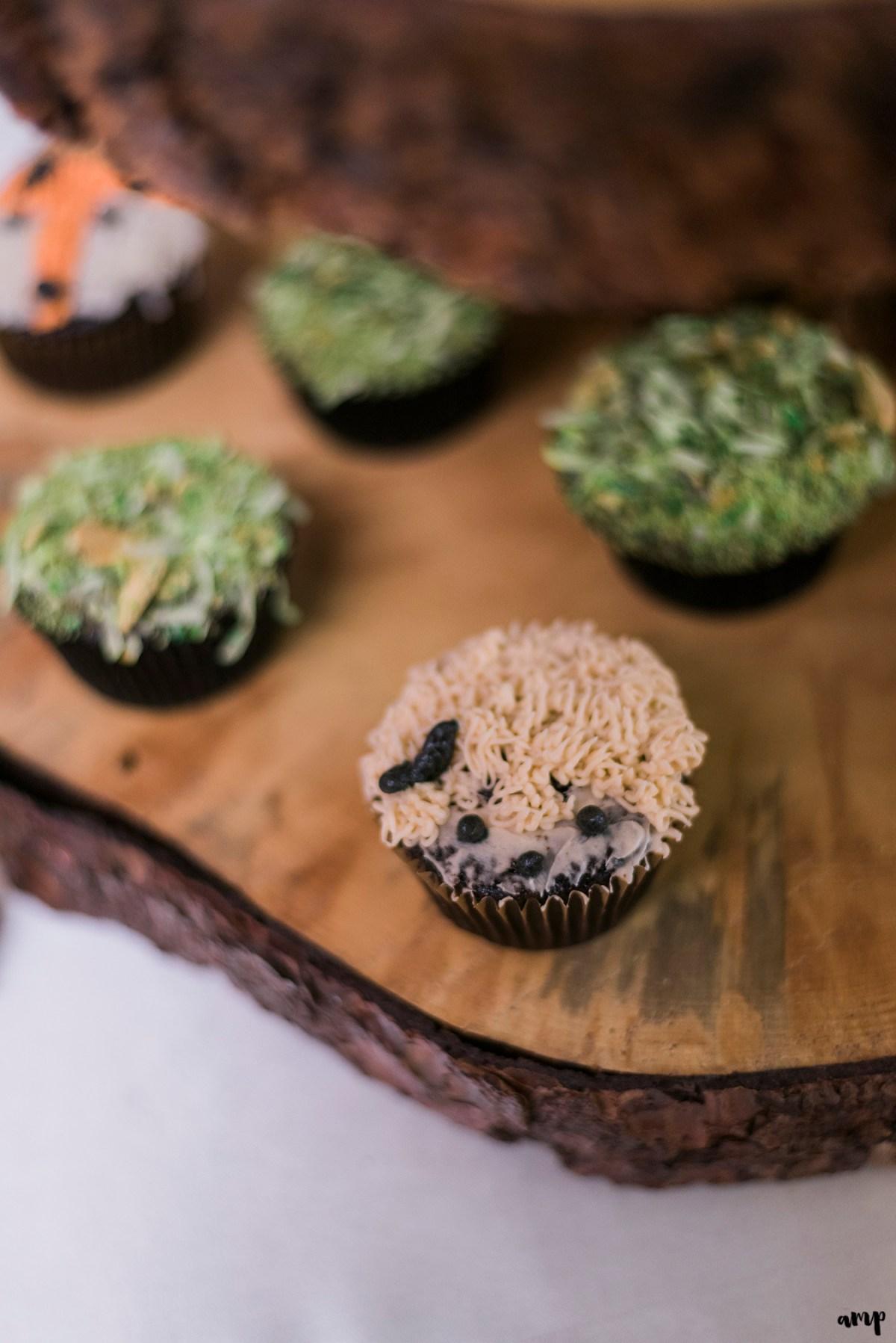 Woodland creatures cupcakes
