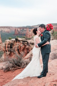 Mike & Amy's Spring Elopement on the Colorado National Monument in Grand Junction | amanda.matilda.photography