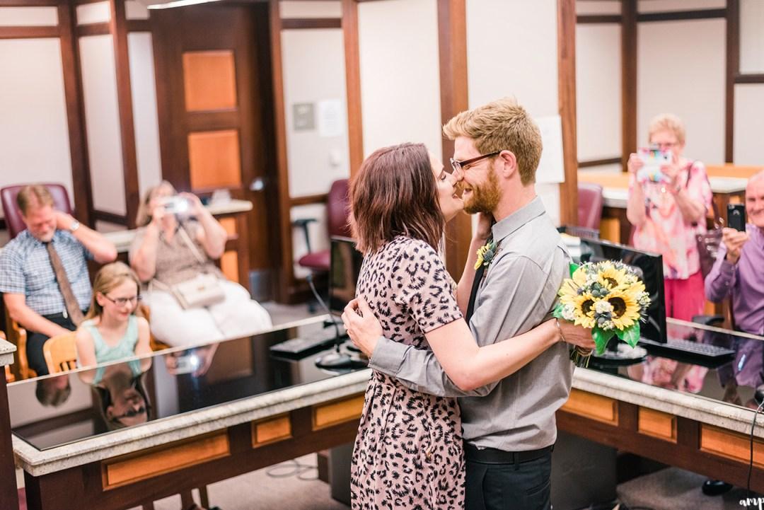 Ben & Courtnee's Wichita Courthouse Wedding   amanda.matilda.photography