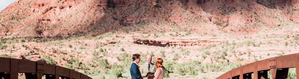 Blake & Carrie's Gateway Canyons Elopement | amanda.matilda.photography